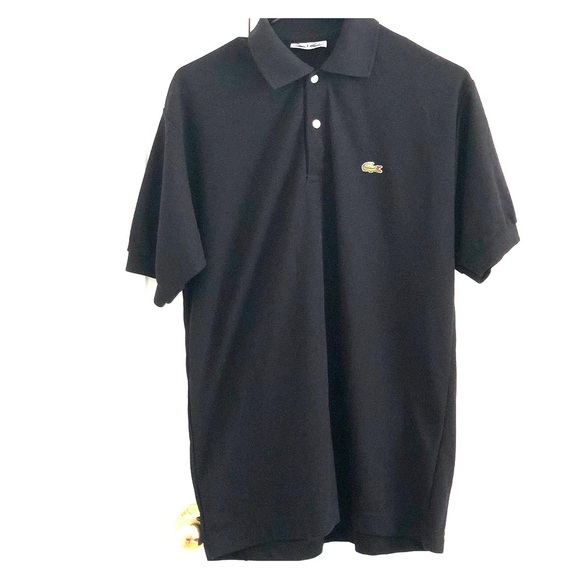 Lacoste Other - Classic Black Lacoste Polo